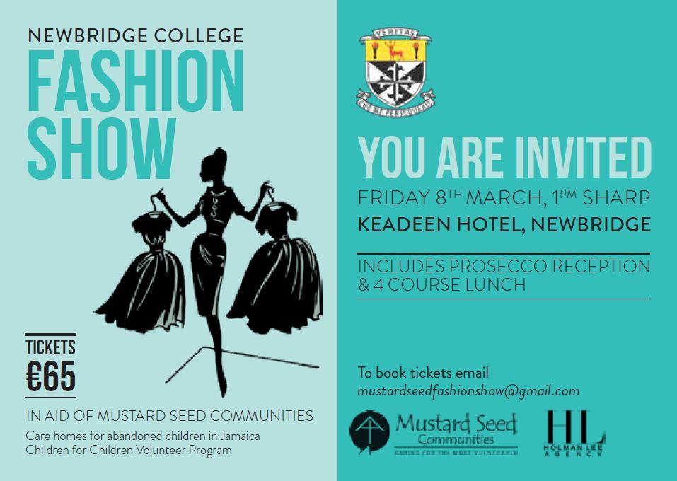 Fashion Show Invite 2019