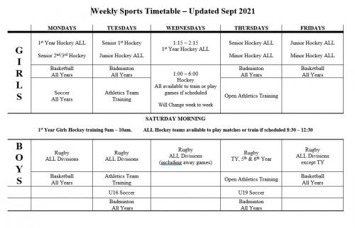 Sports Timetable_2